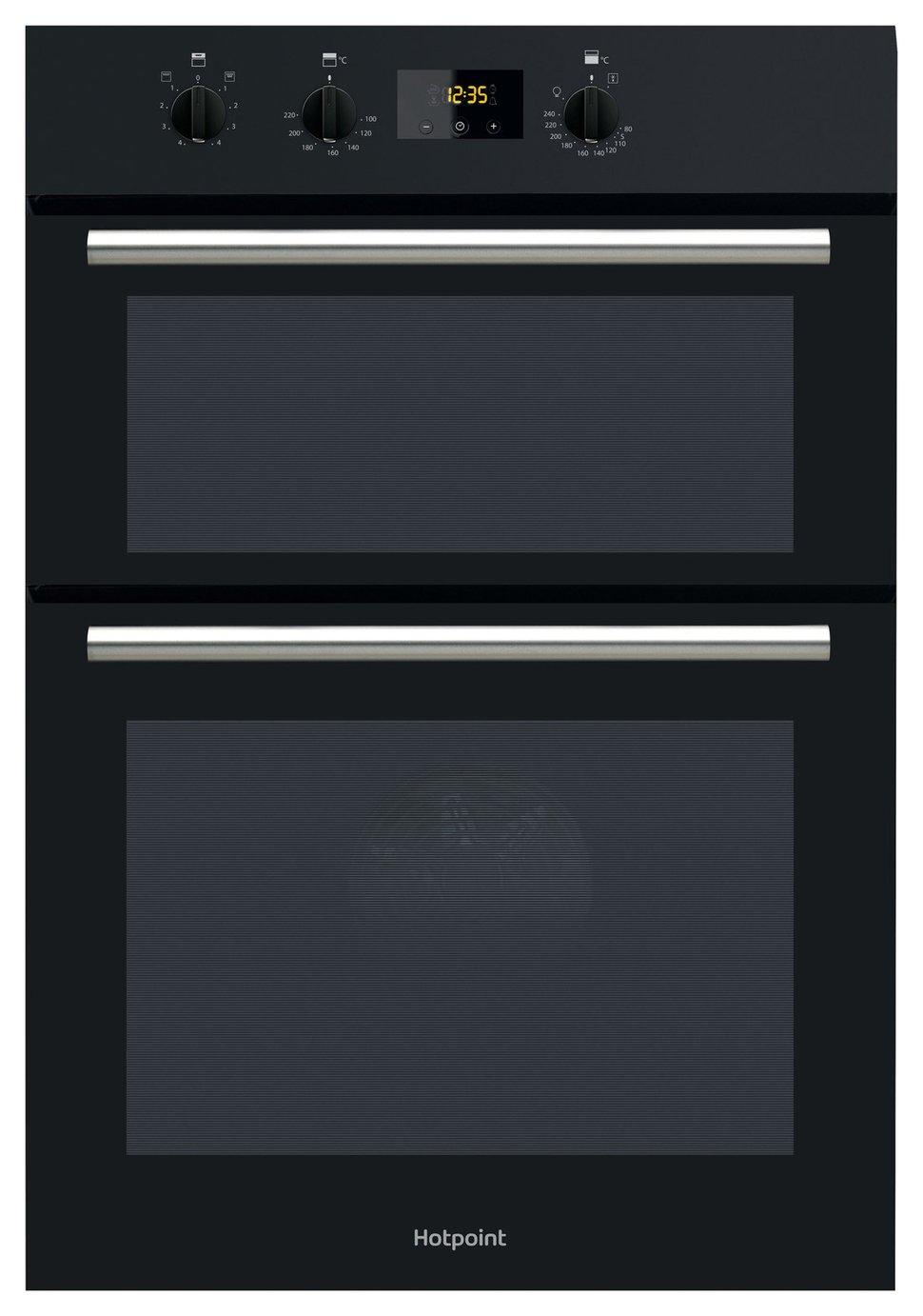 Hotpoint DD2540BL Built In Double Electric Oven - Black