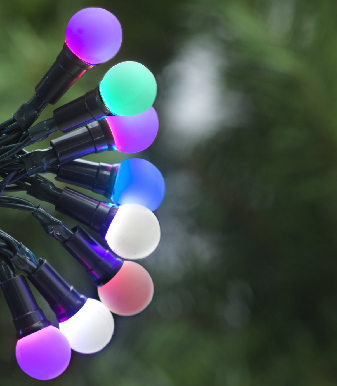 Argos Home Set of 160 LED Berry Lights - Multicoloured