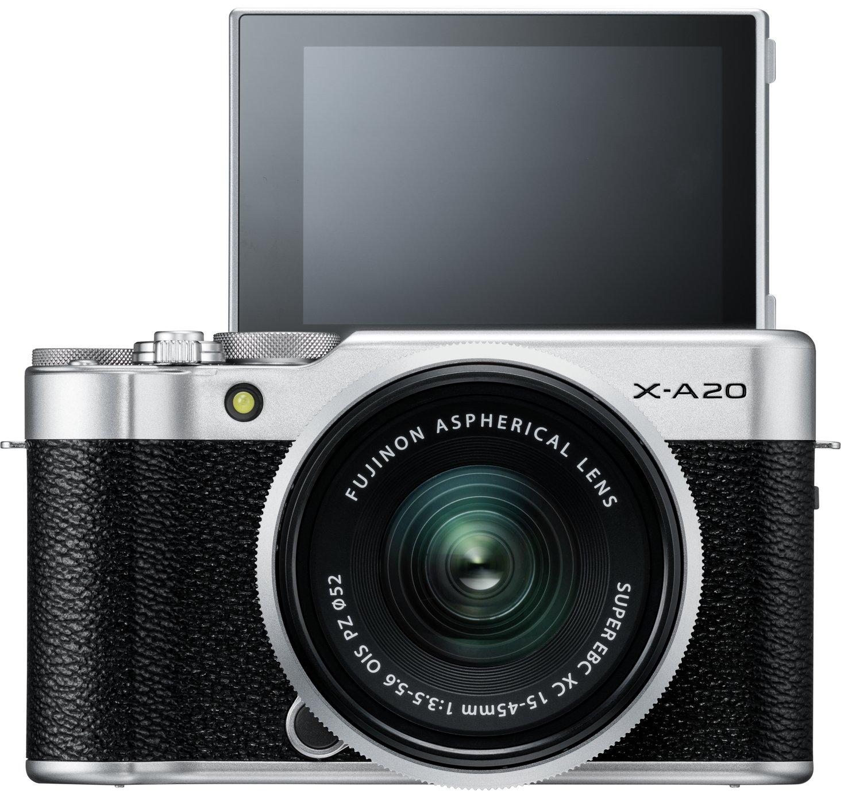 Fujifilm X-A20 Mirrorless Camera With 15-45mm Lens