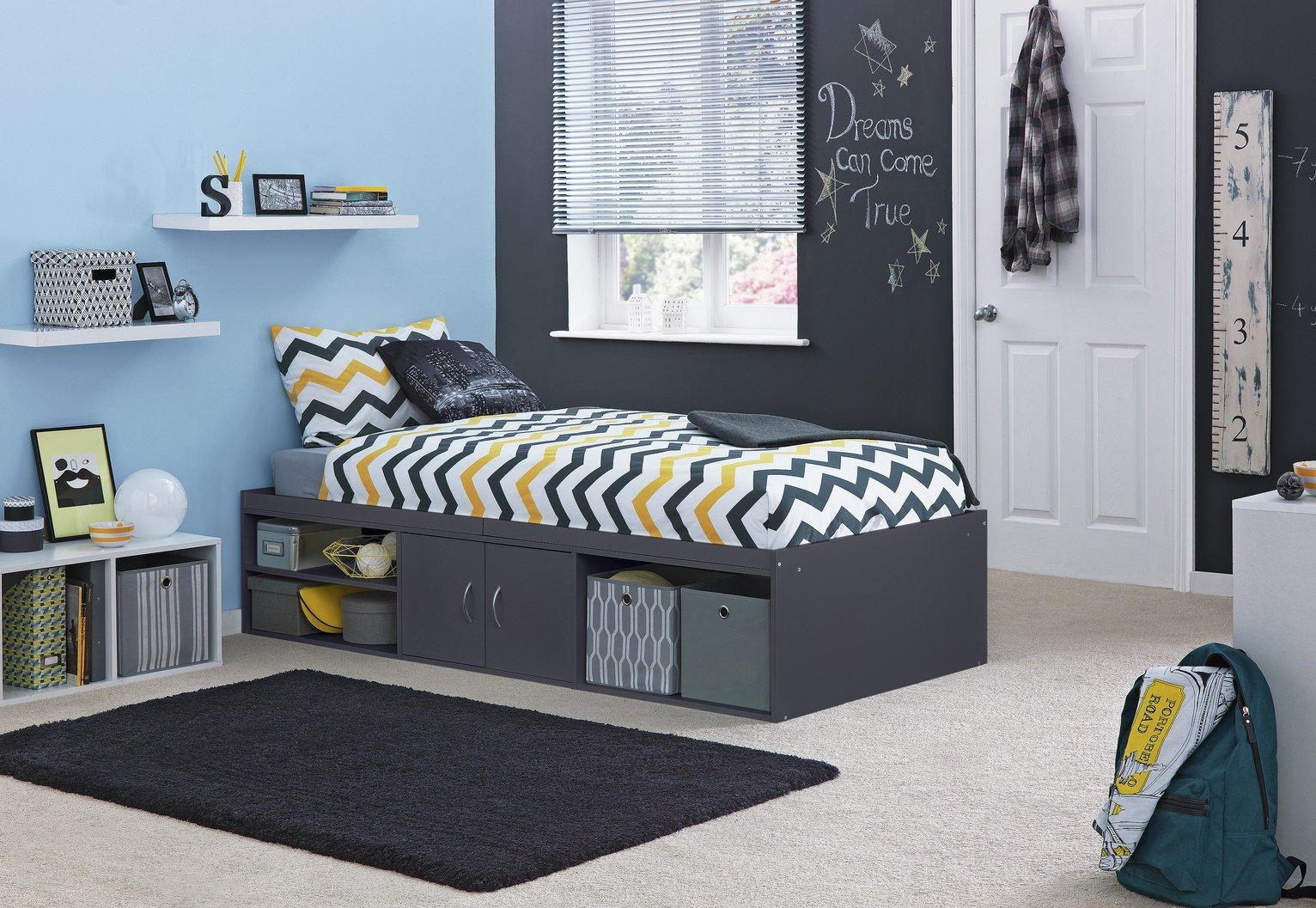 Argos Home Freddie Grey Cabin Bed Frame