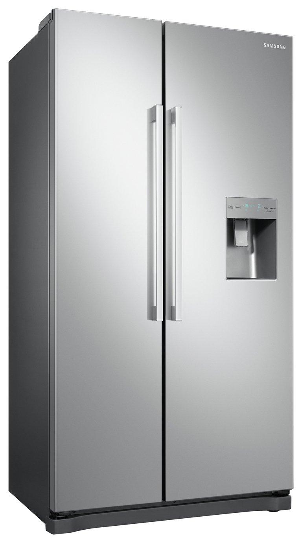 Samsung RS52N3313SA/EU American Fridge Freezer - Silver