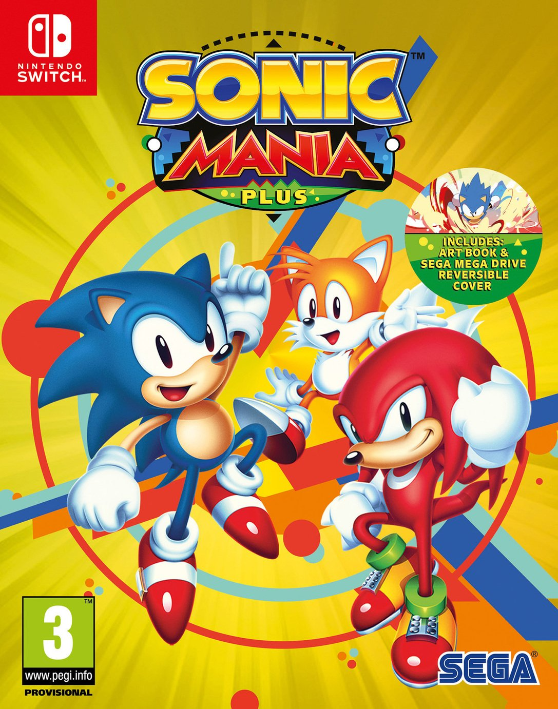 Sonic Mania Plus Nintendo Switch Game