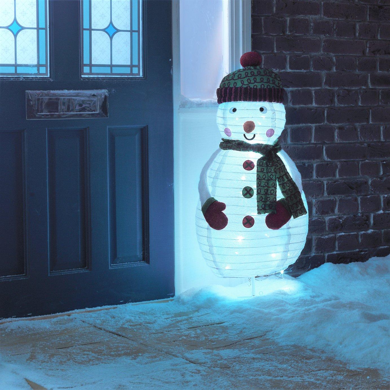Argos Home Pop Up Light Up Snowman