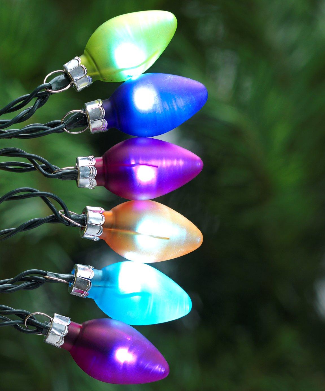 Argos Home 40 LED Retro Bulb String Lights - Multicoloured