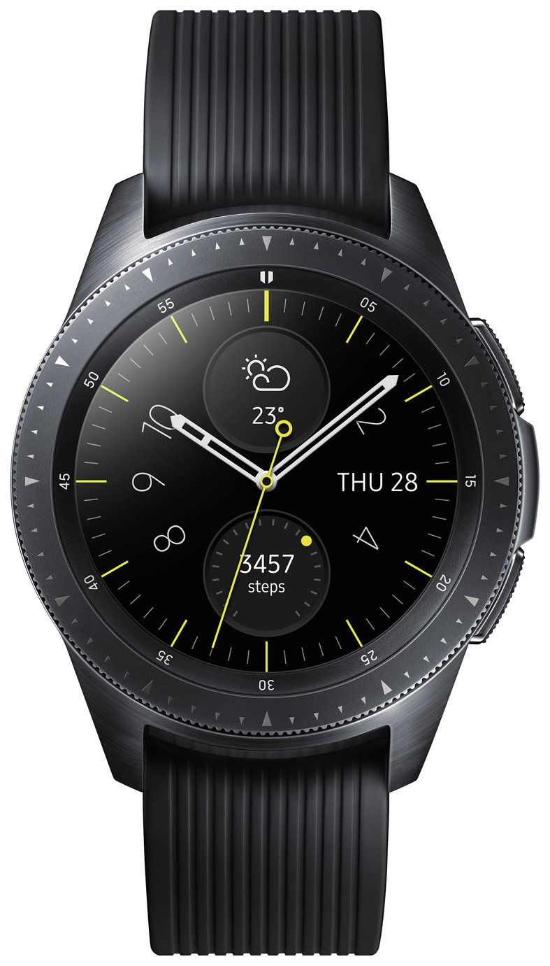 Samsung Galaxy 42mm Smart Watch - Midnight Black