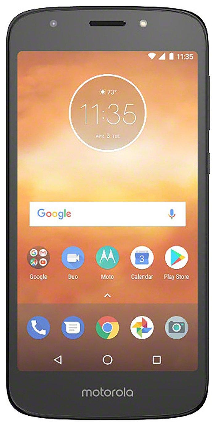 SIM Free Motorola E5 Play 16GB Mobile Phone - Black