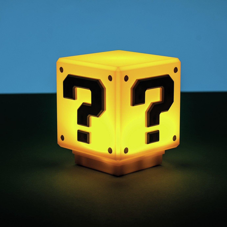 Super Mario Mini Question Block Light
