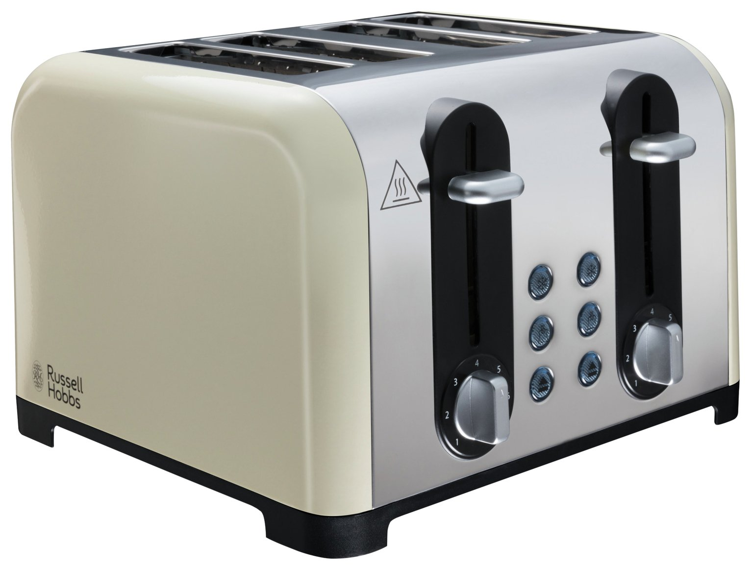 Russell Hobbs 22408 Worcester 4 Slice Toaster - Cream