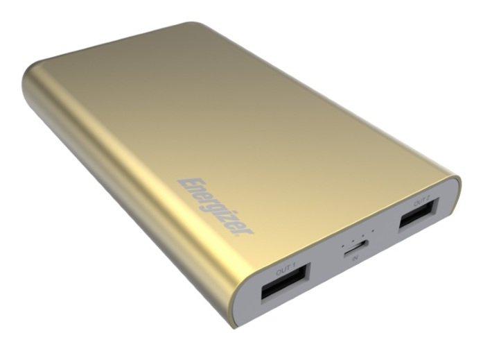 Energizer 8000mAh Slim Portable Power Bank – Gold
