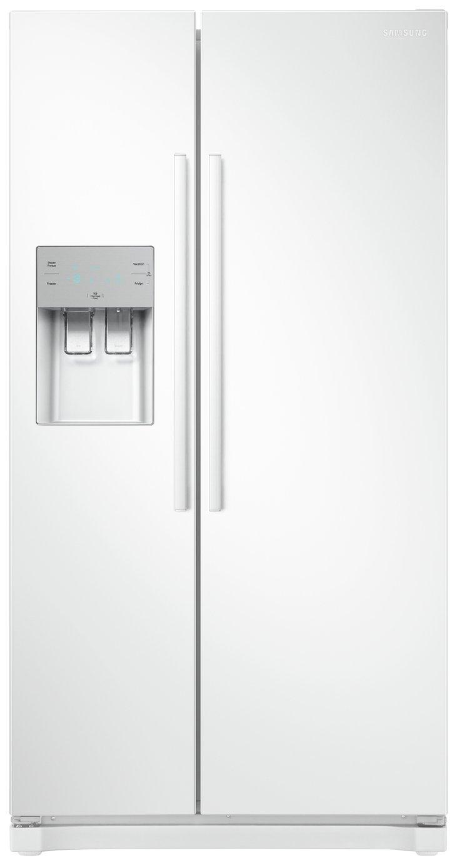 Samsung RS50N3513WW/EU American Fridge Freezer - White