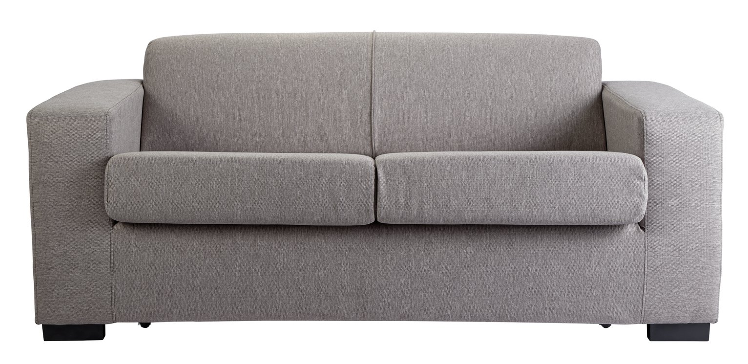 Argos Home Ava Fabric Sofa Bed - Light Grey at Argos