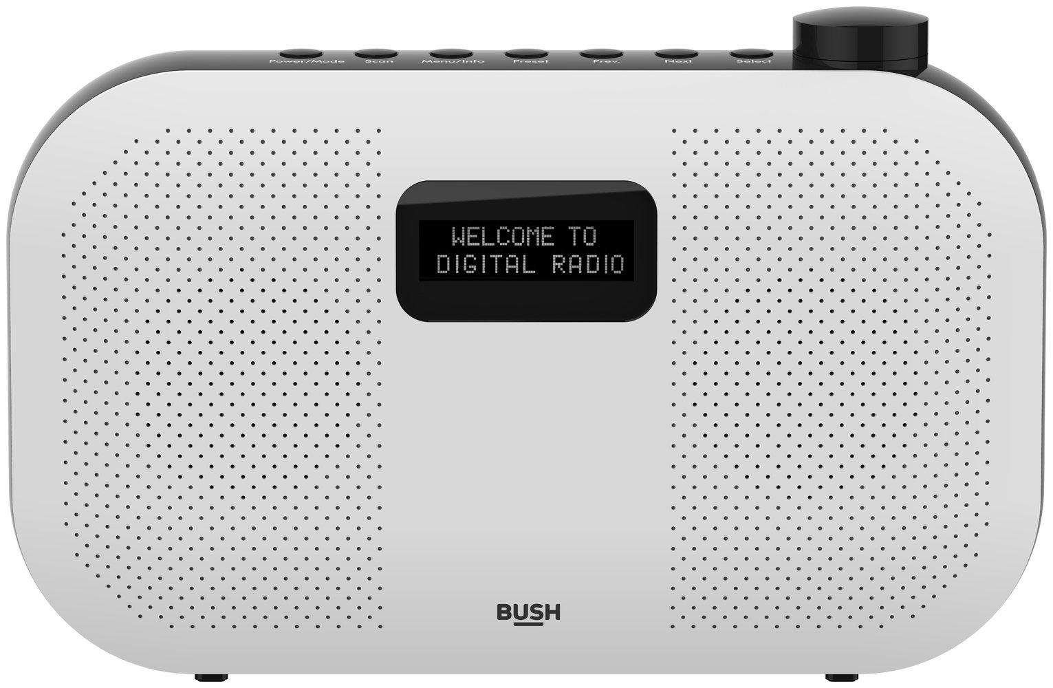 Bush Stereo DAB Radio - White