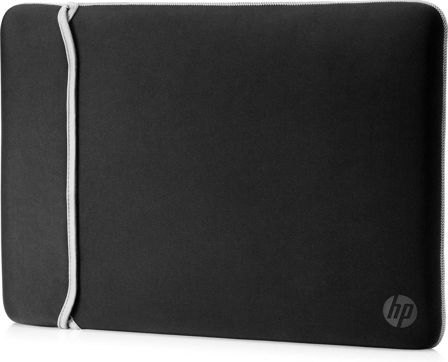 HP 14 Inch Reversible Laptop Sleeve - Silver & Black
