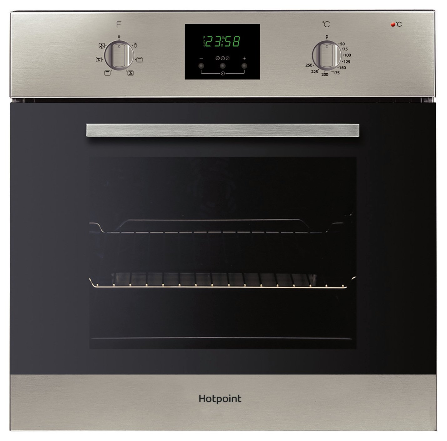 Hotpoint AOY54CIX Built In Single Oven - Silver