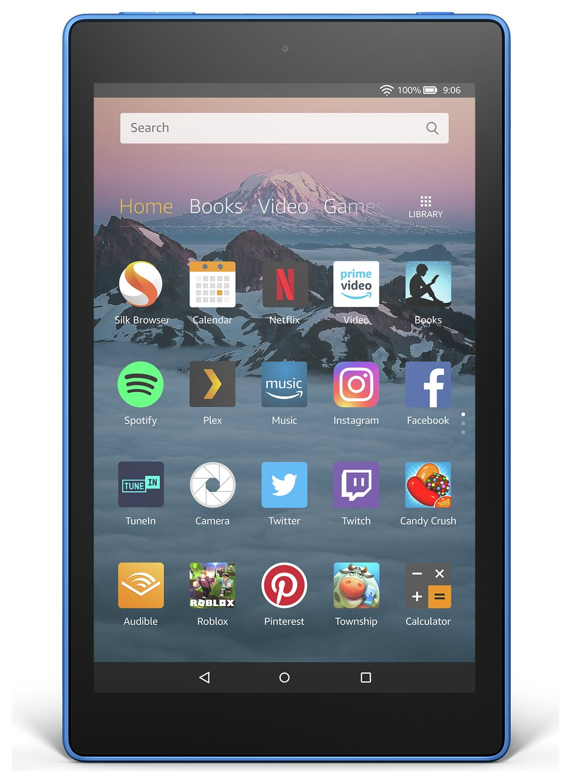 Amazon Fire HD 8 Alexa 8 Inch 16GB Tablet - Marine Blue