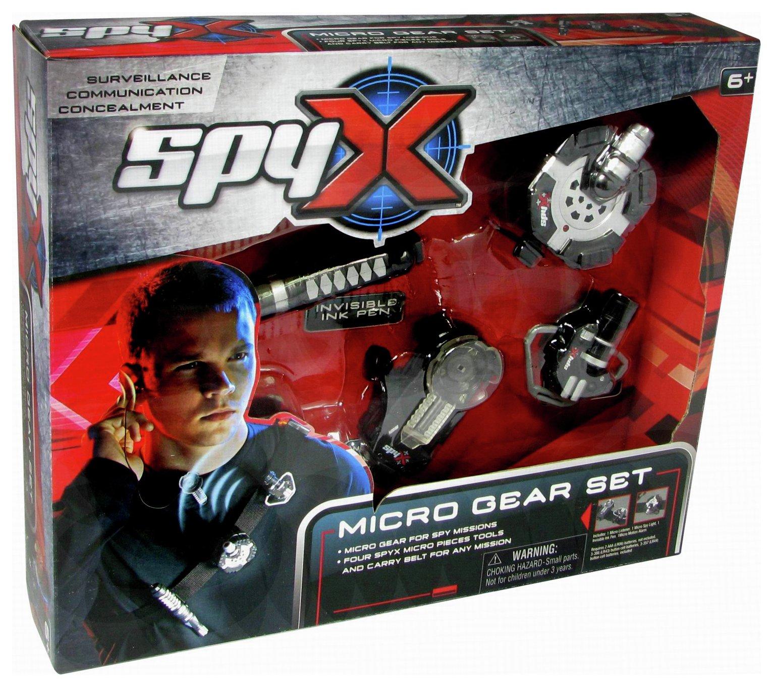 Spy X Micro Spy Gear Set