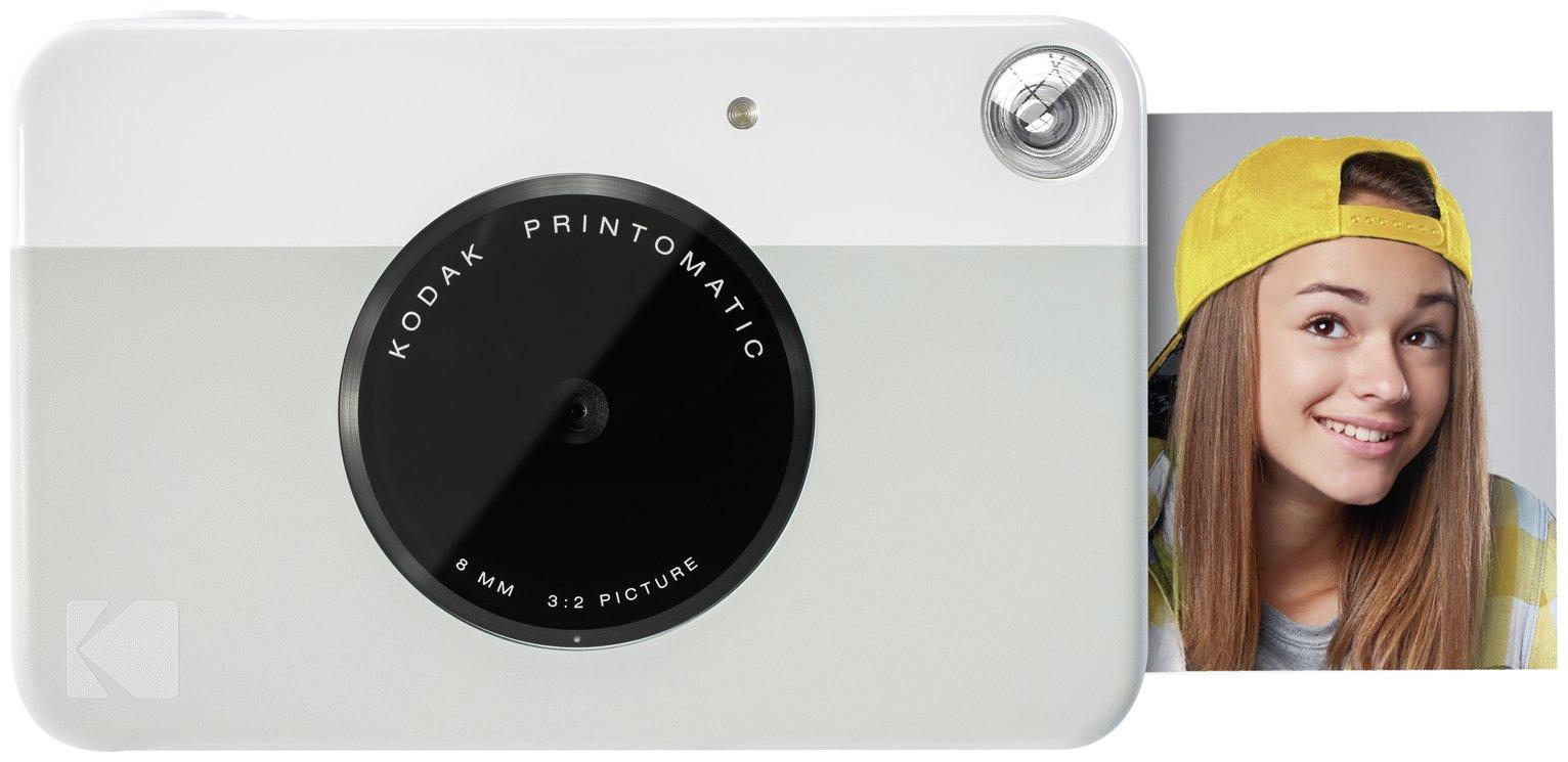 Kodak Printomatic Instant Camera - Grey