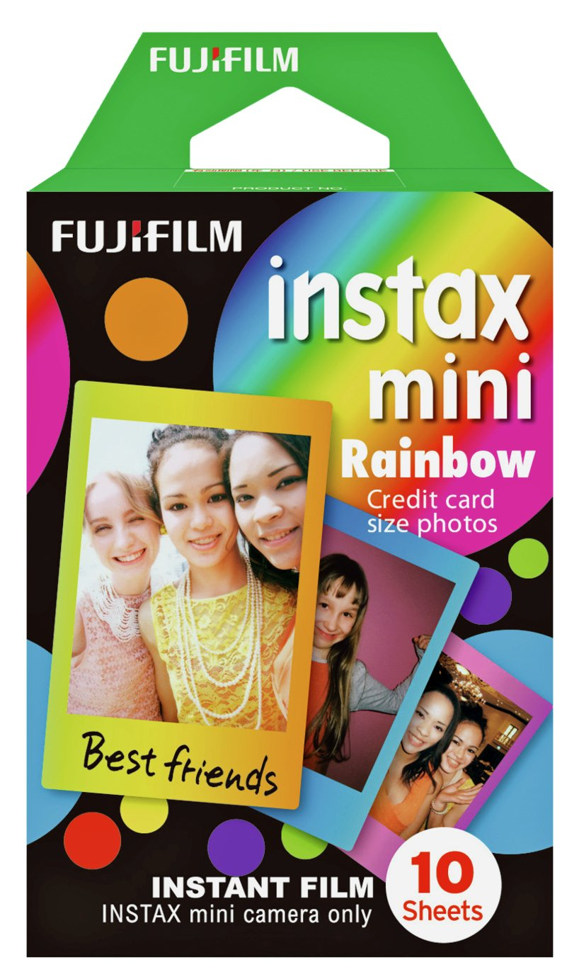 instax Rainbow mini film 10 shot pack