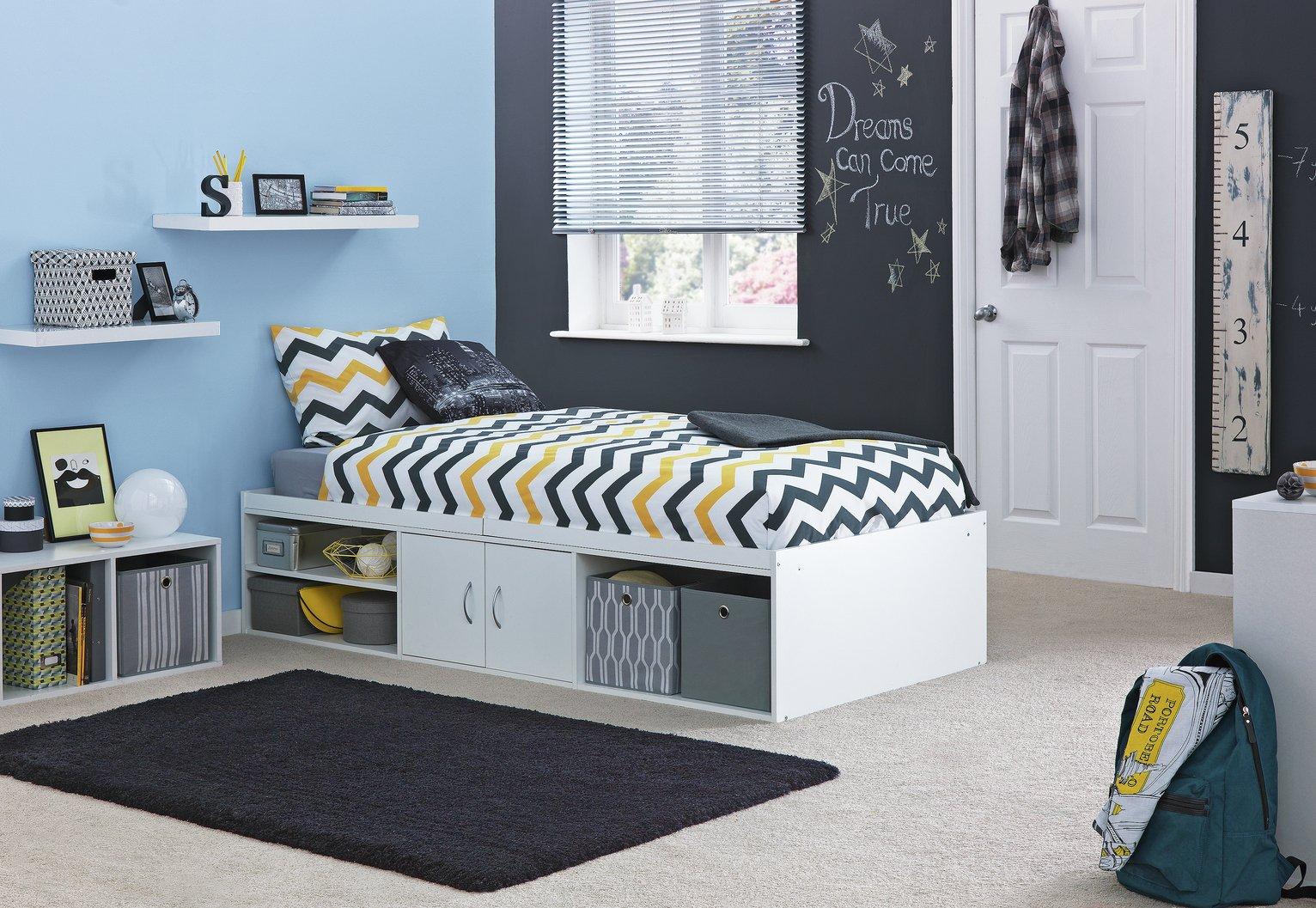 Argos Home Freddie White Cabin Bed Frame