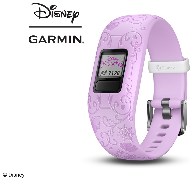 Garmin Vivofit Jr 2 Disney Princess Kids Fitness Tracker - Purple