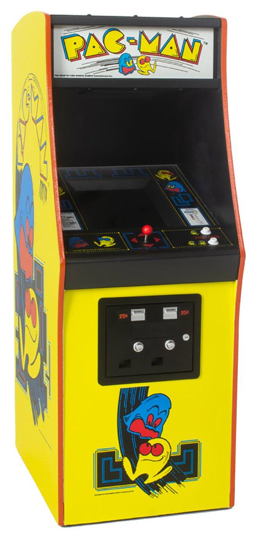 Pac Man 1/4 Size Arcade Machine