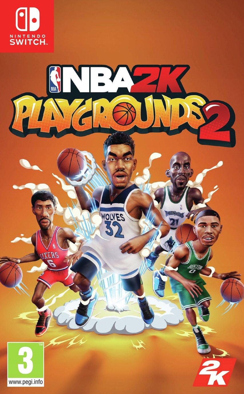 NBA Playgrounds Nintendo Switch Game