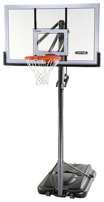 Lifetime Adjustable 54 Inch Portable Basketball Hoop