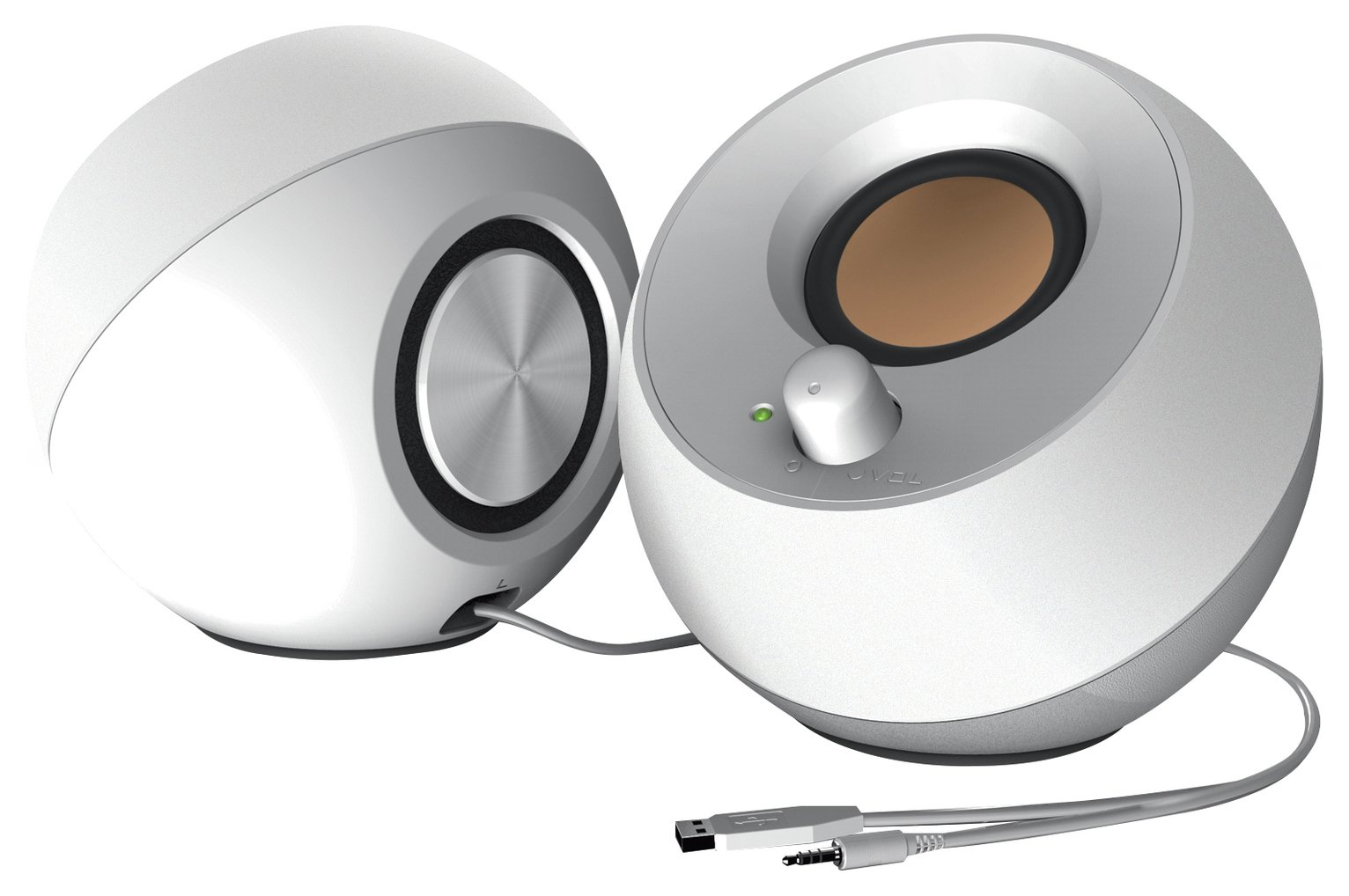 Creative Pebble 2.0 Speakers - White