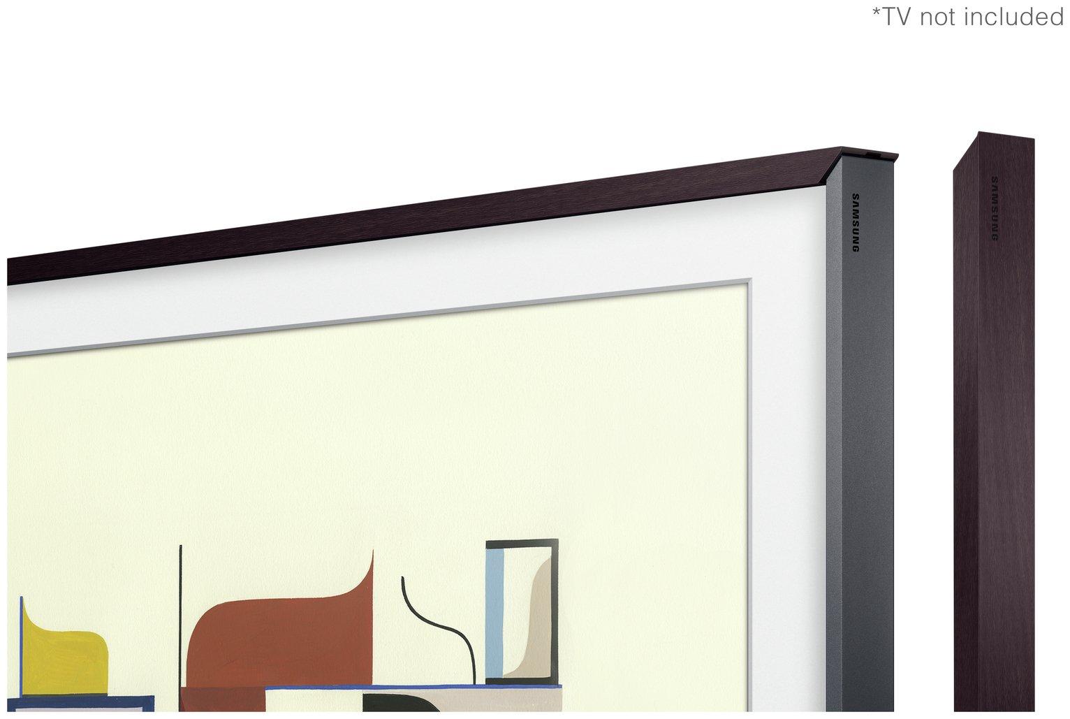 Samsung Customisable Bezel for The Frame 43 Inch TV - Brown