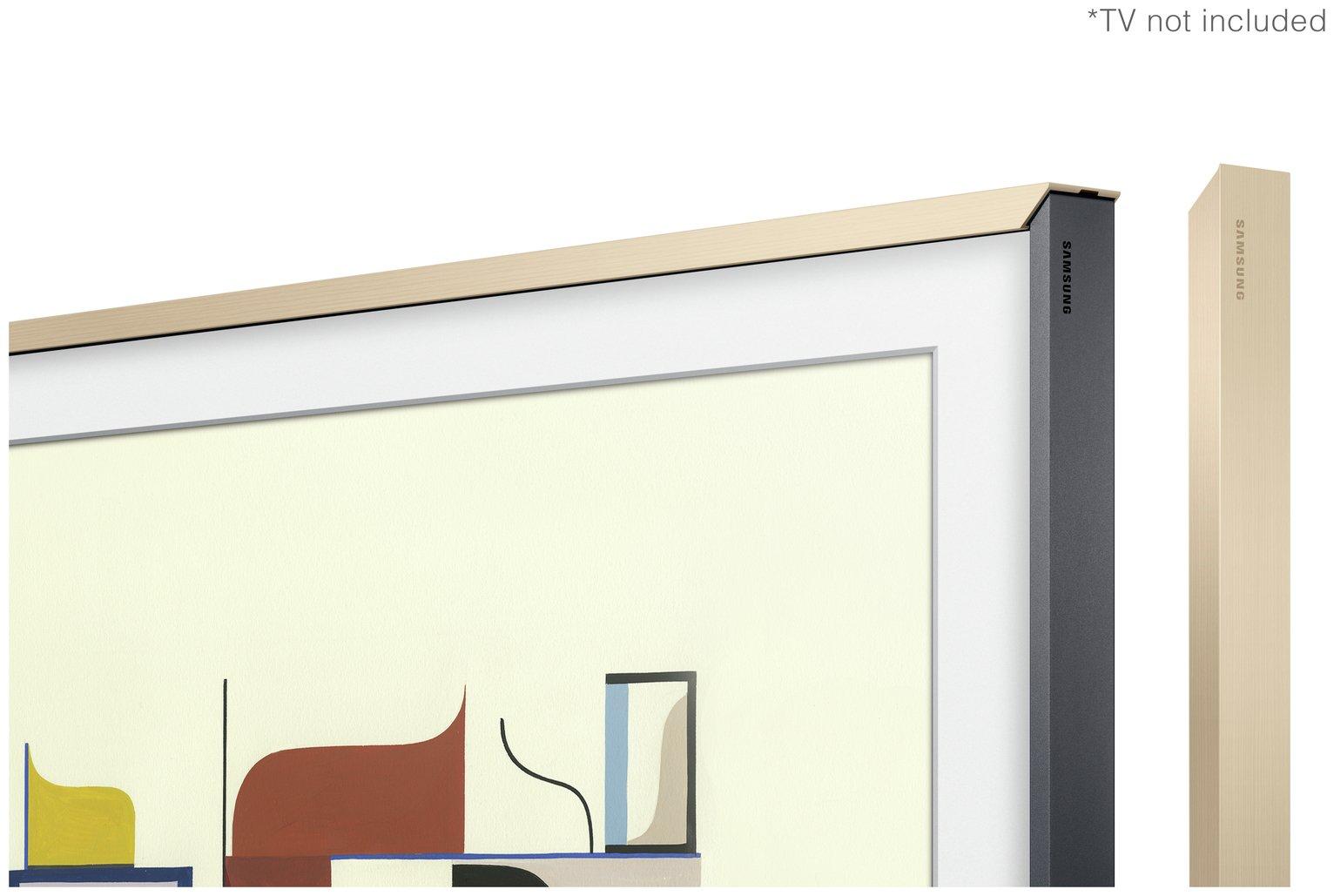 Samsung Customisable Bezel for The Frame 43 Inch TV - Beige
