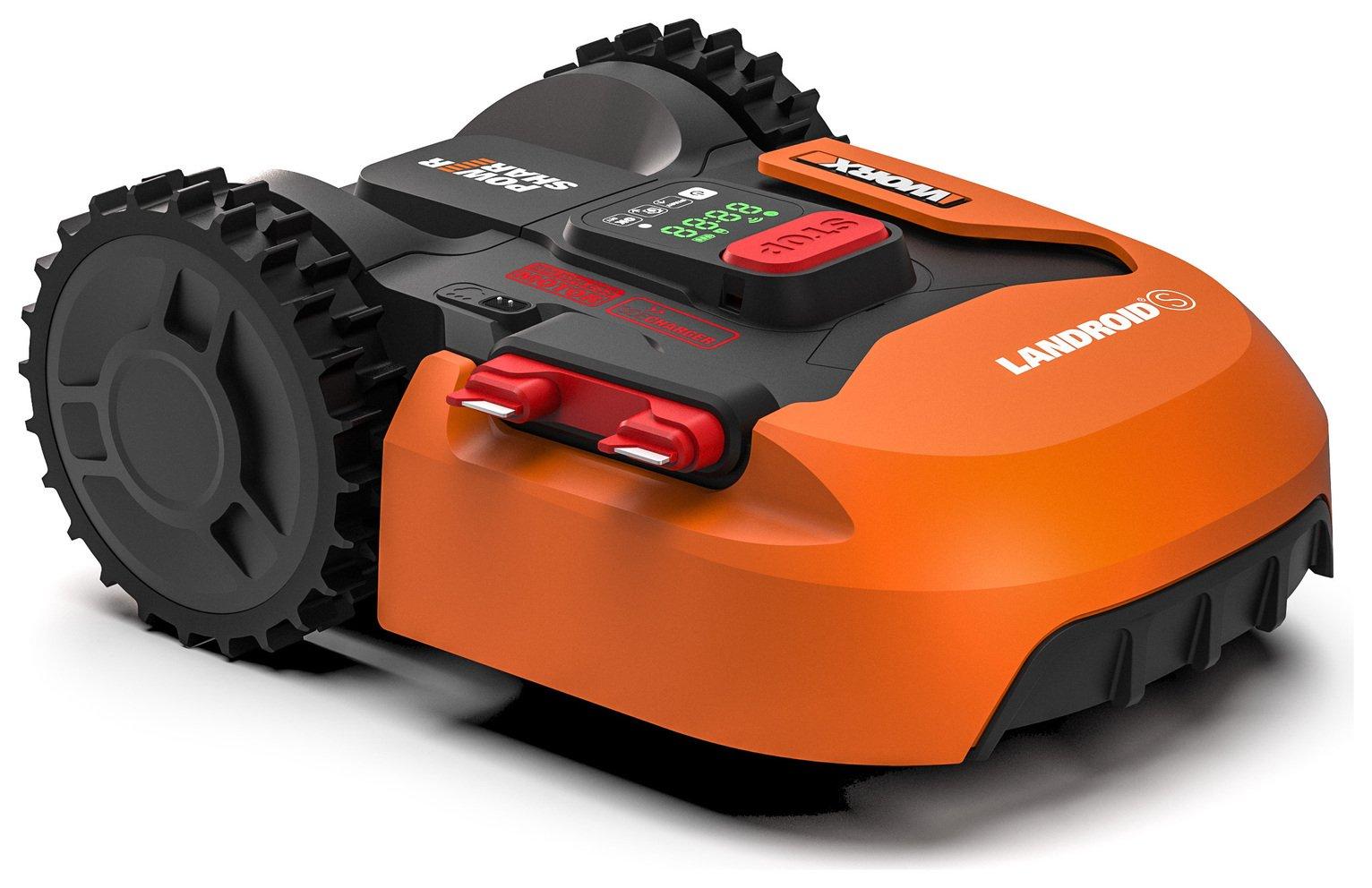 Image Of Worx Wr130 300 M2 Landroid Robotic Lawnmower