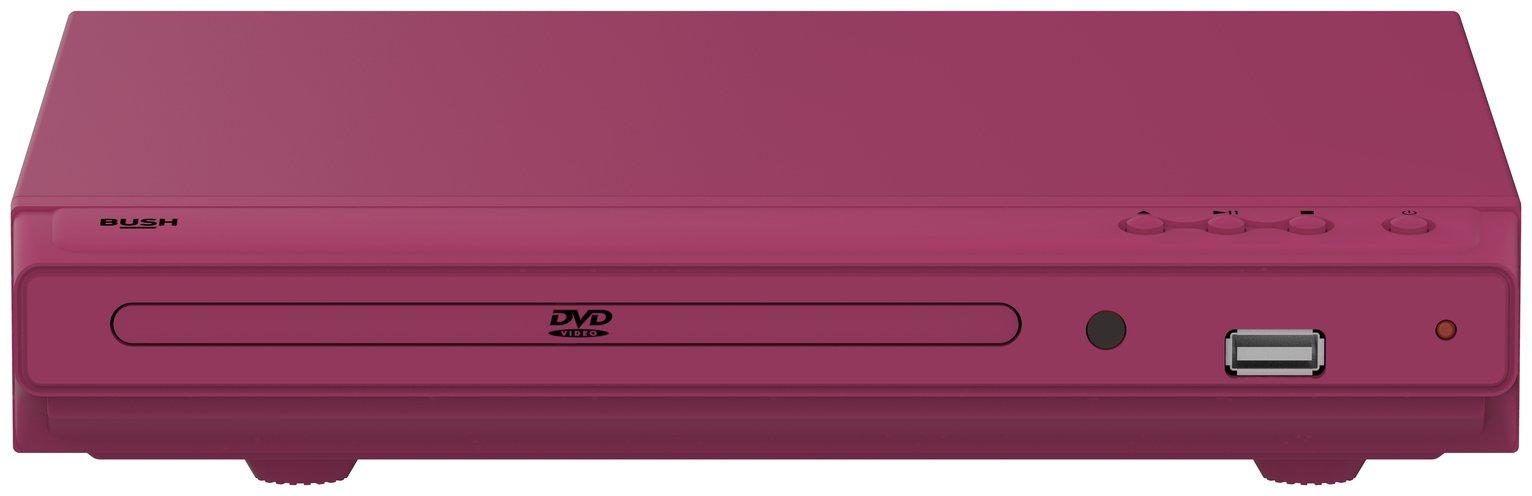 Bush DVD Player - Pink