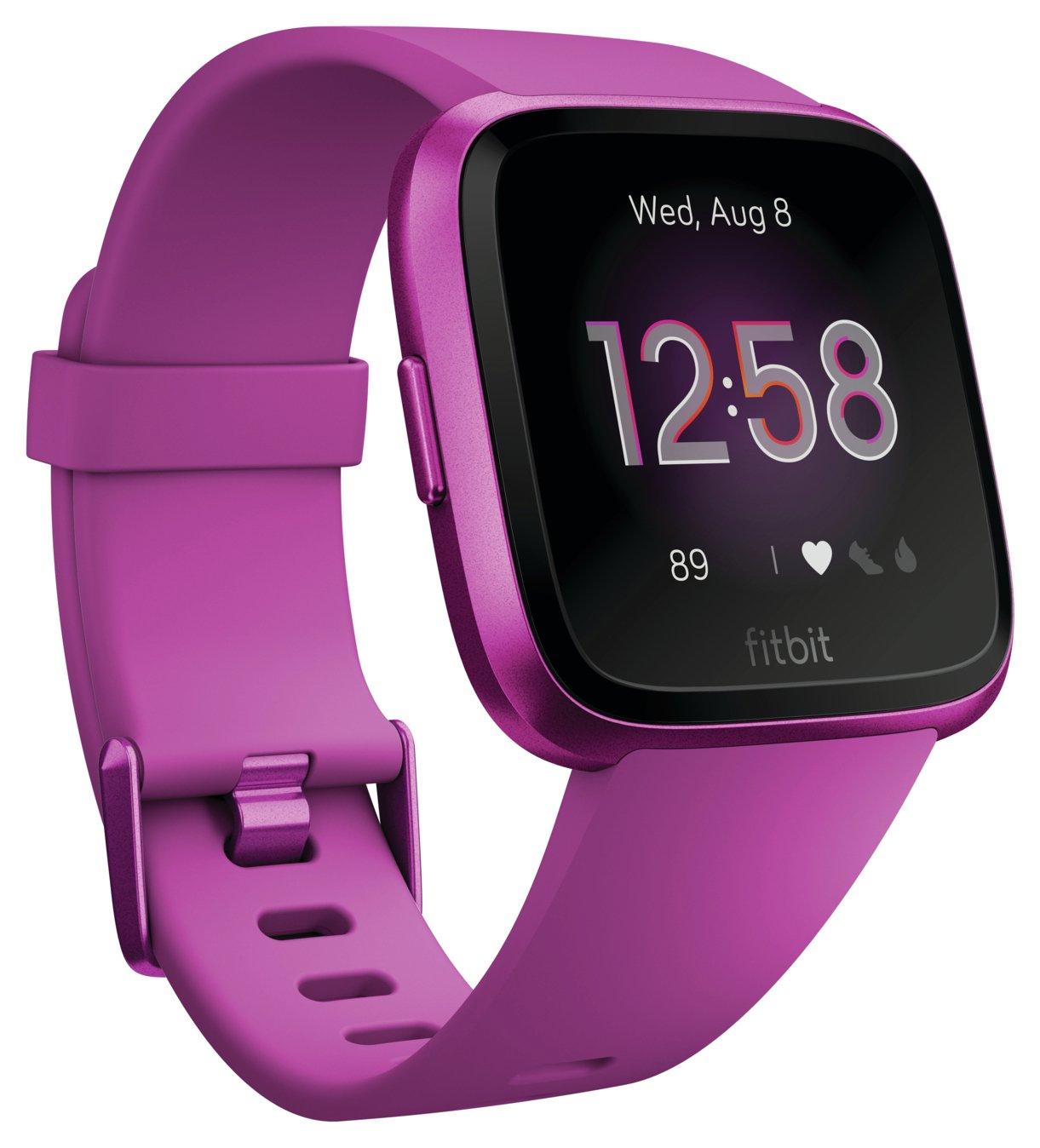 Fitbit Versa Lite Smart Watch - Mulberry