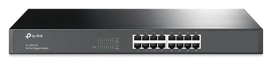 TP-Link 16-Port Gigabit Ethernet Rackmount Switch