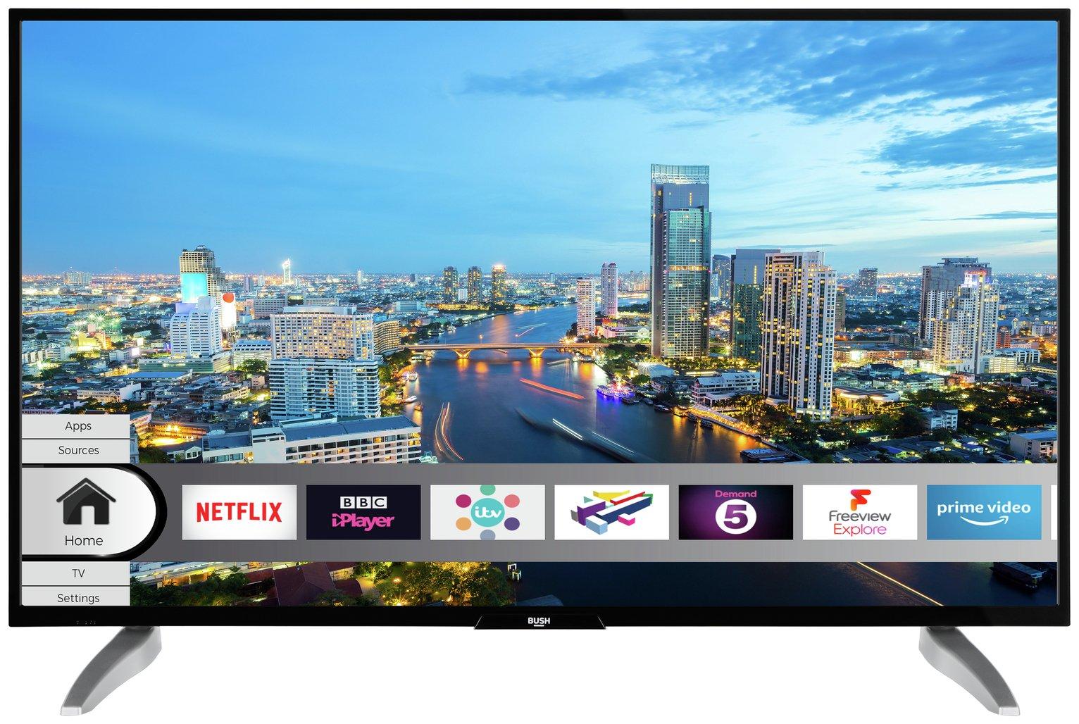Bush 43 Inch Smart 4K HDR LED TV