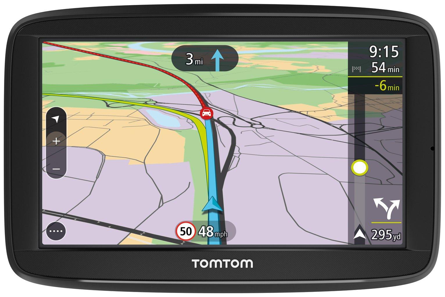TomTom VIA 52 5in Traffic Western EU Lifetime Maps Sat Nav