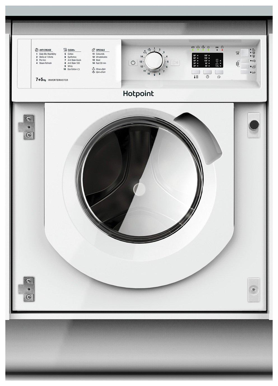 Hotpoint BIWDHL7128 7KG / 5KG 1200 Spin Washer Dryer - White