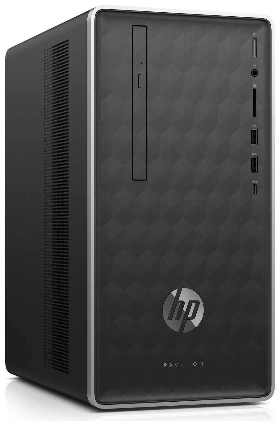 HP Pavilion i3 4GB 1TB Desktop PC - Black