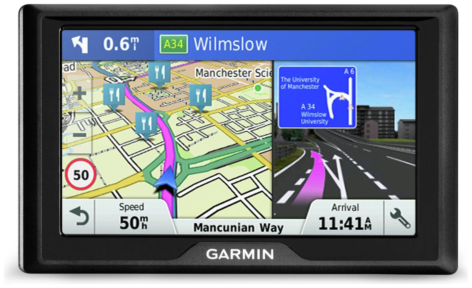 Garmin Drive 40LM 4.3 Inch Lifetime Maps UK & Western Europe
