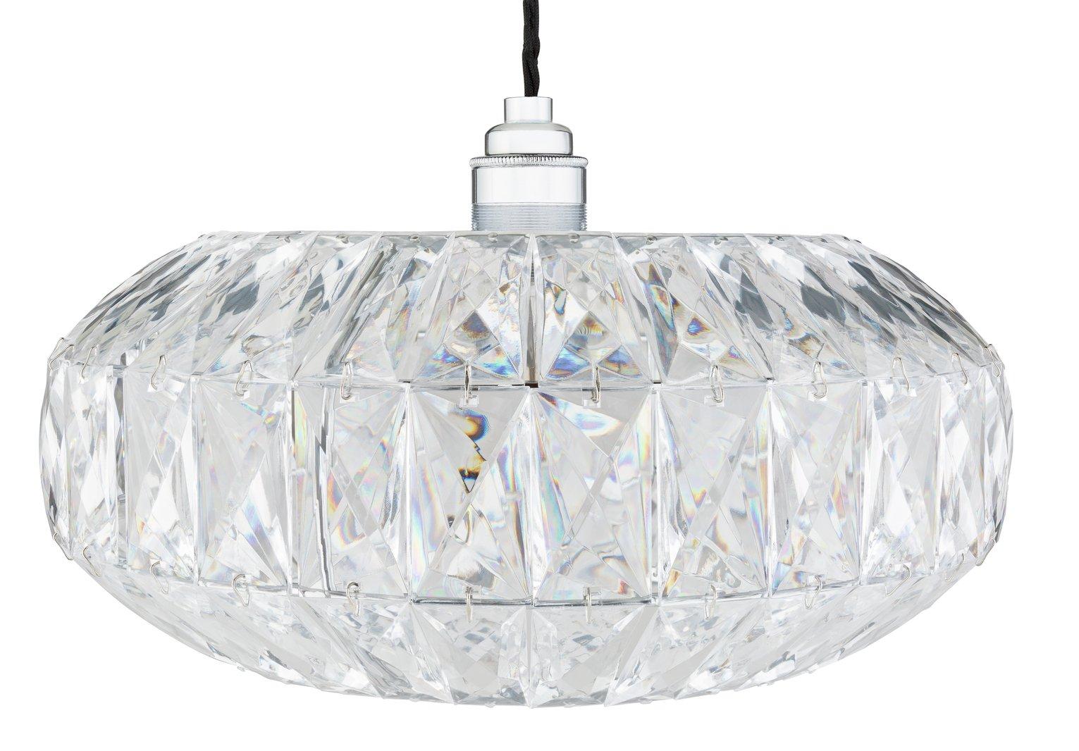 Argos Home Savannah Acrylic Ceiling Pendant Light