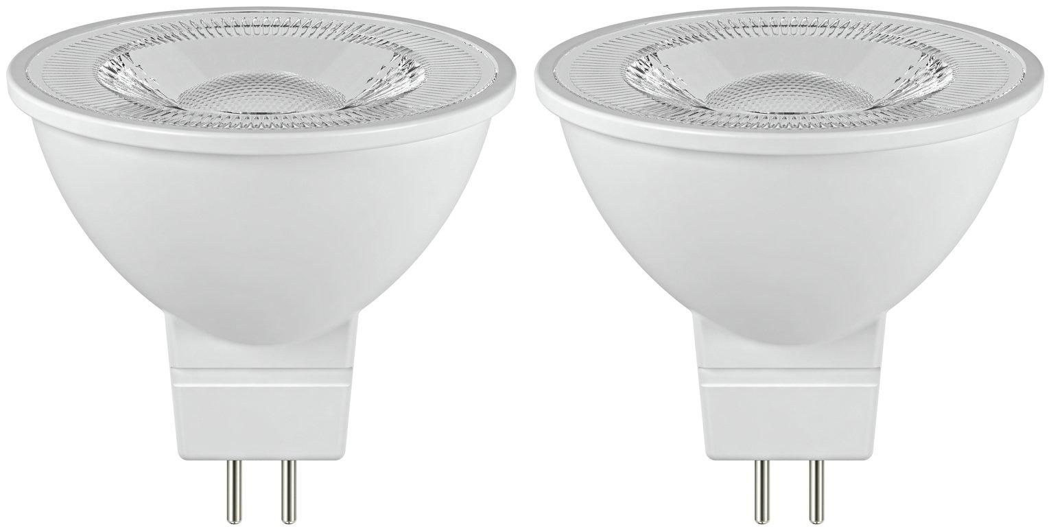 Argos Home 5W LED GU5.3 Light Bulb - 2 Pack