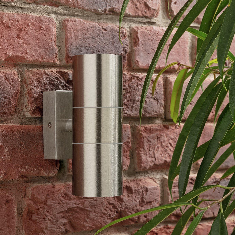 Zinc Up & Down Outdoor Wall Light