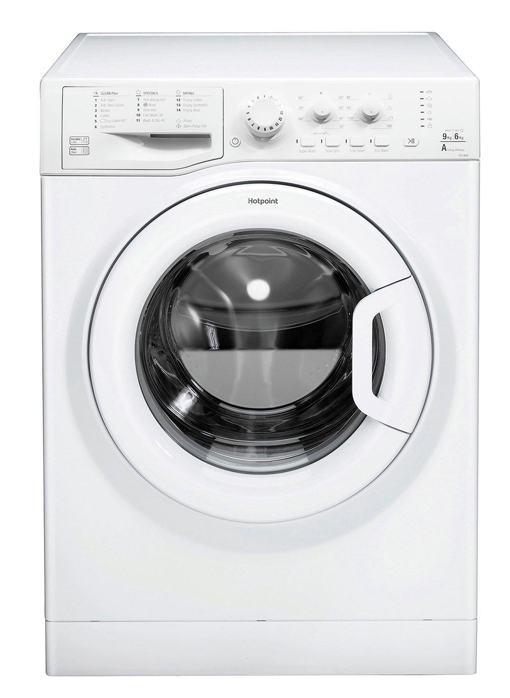 Hotpoint FDL9640PUK 9KG / 6KG 1400 Spin Washer Dryer - White