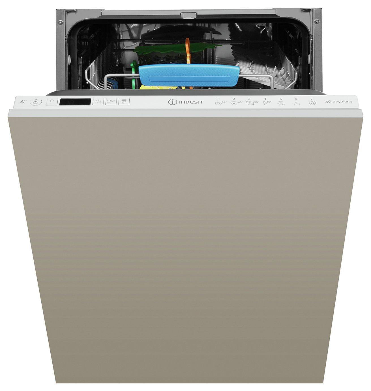 Indesit DSIO3T224EZUK Slimline Integrated Dishwasher - Grey