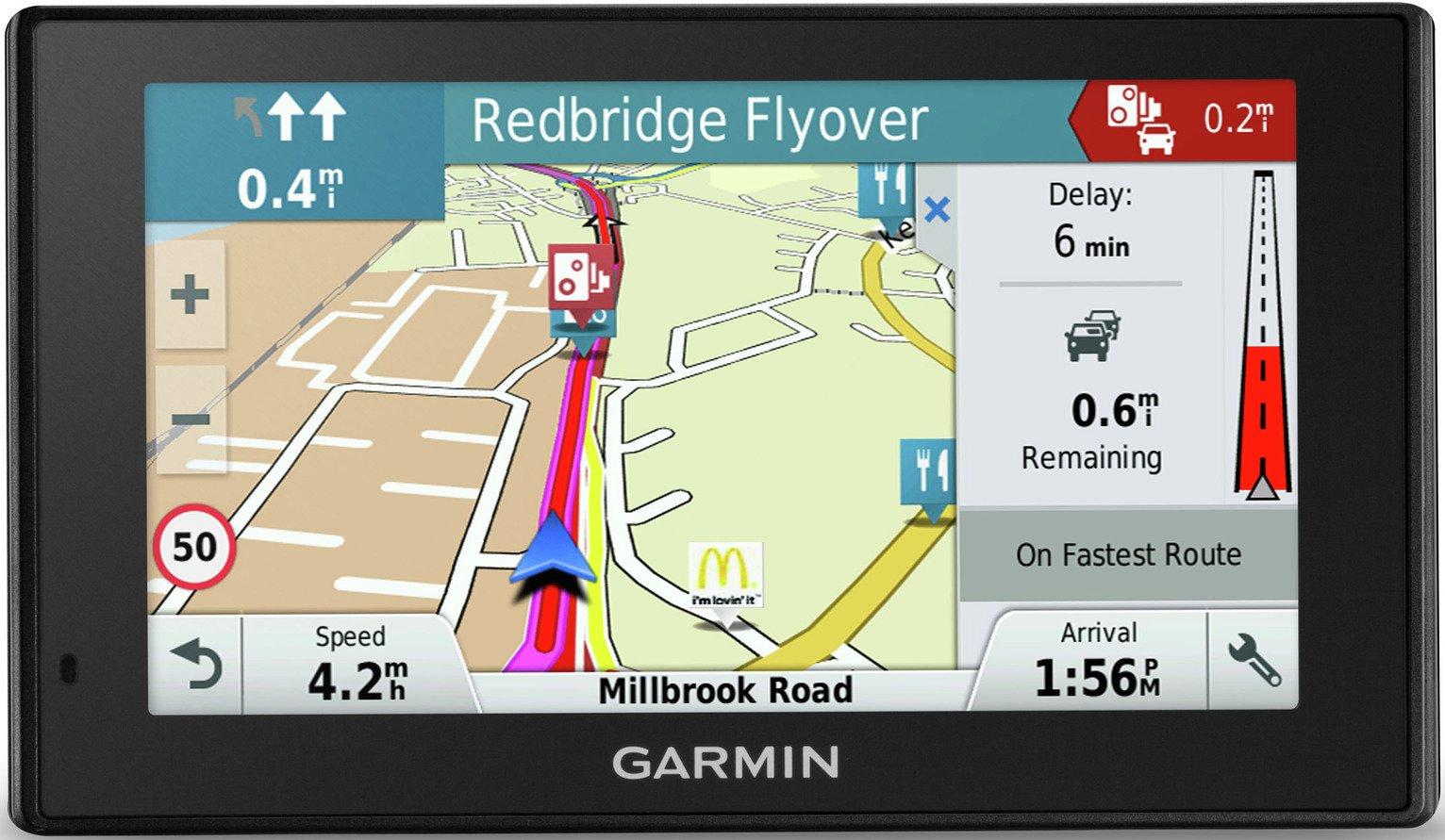 Garmin DriveSmart 50LM 5 Inch Sat Nav with EU Maps & Traffic