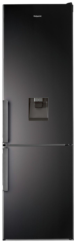 Hotpoint H7T911AKSH AQUA Frost Free Fridge Freezer - Black