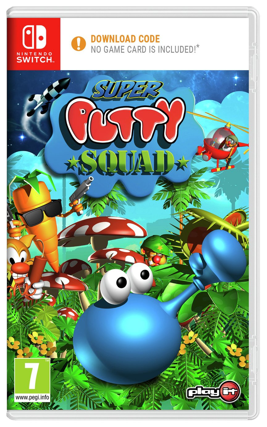 Super Putty Squad Nintendo Switch Game