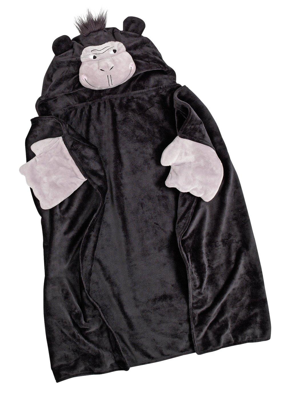 Argos Home Gorilla Snuggle Blanket