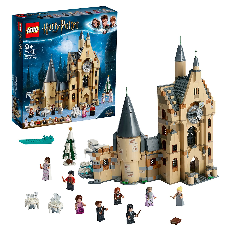 LEGO Harry Potter Hogwarts Clock Tower Toy - 75948