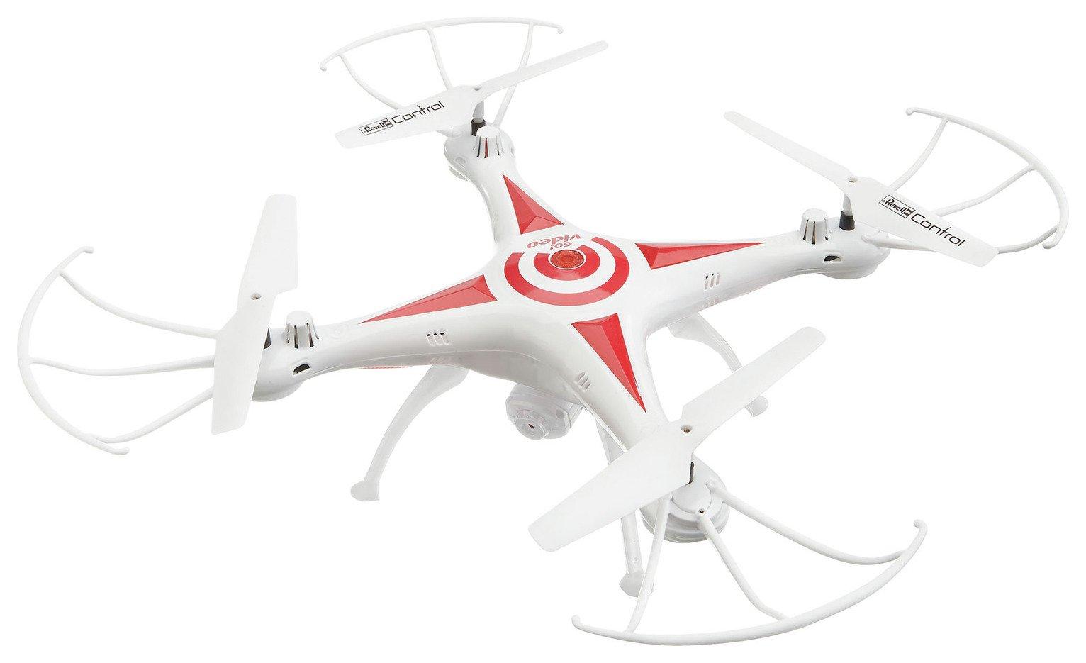 Revell GO! Video Quadcopter 480MP Camera Drone
